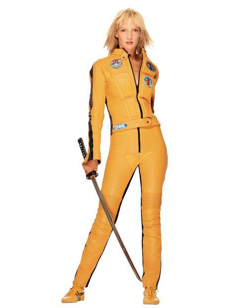 Collar, Sleeve, Standing, Dress shirt, Style, Uniform, Formal wear, Pocket, Orange, Blazer,
