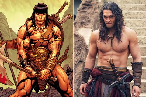 Chest, Trunk, Muscle, Abdomen, Barechested, Facial hair, Fictional character, Mythology, Illustration, Tribe,