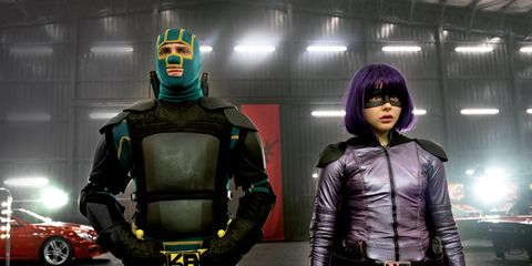 Fictional character, Purple, Costume, Armour, Bangs, Animation, Leather, Belt, Games, Toy,