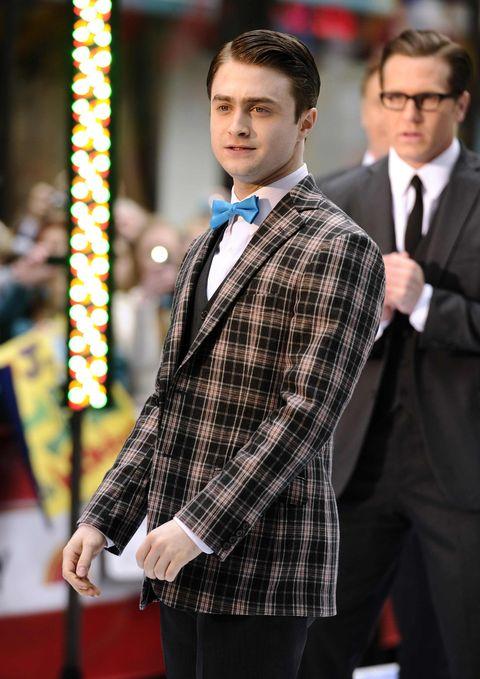 Coat, Dress shirt, Collar, Trousers, Shirt, Plaid, Suit trousers, Pattern, Suit, Outerwear,