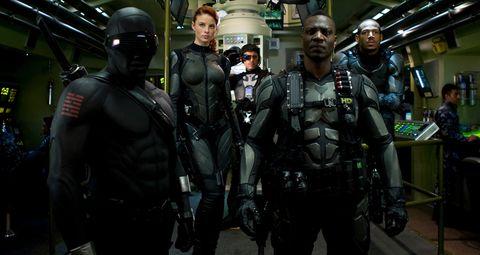Fictional character, Personal protective equipment, Ballistic vest, Batman, Costume, Action film, Air gun, Official, Security, Law enforcement,