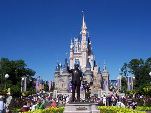 Walt disney world, Amusement park, Landmark, Park, Recreation, Sky, Spire, World, Vacation, Castle,