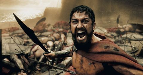 Chest, Tooth, Action film, Barechested, Battle, Tribe, Fictional character, Pleased, Sword,