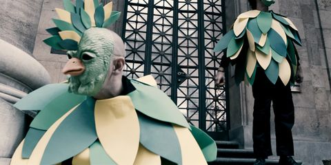 Teal, Turquoise, Animation, Fictional character, Sculpture, Armour, Statue,