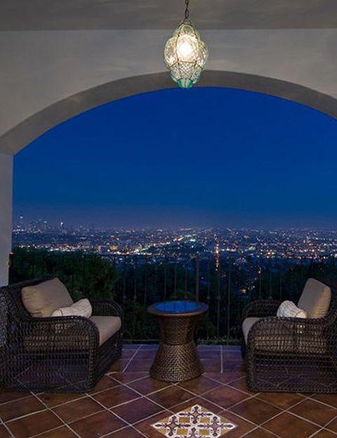 Blue, Furniture, Light fixture, Room, Interior design, Ceiling fixture, Chandelier, Real estate, Ceiling, Azure,