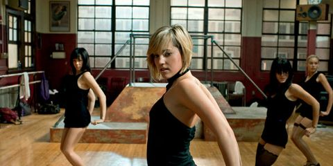 Entertainment, Performing arts, Flooring, Dancer, Floor, Physical fitness, Wood flooring, Choreography, Bookcase, Dress,