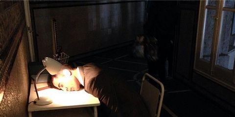 Lighting, Darkness, Lamp, Light fixture, Heat, Still life photography, Candle, Screenshot,