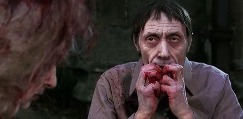 Skin, Jaw, Organ, Temple, Eating, Flesh, Taste, Zombie, Wrinkle, Disfigurement,