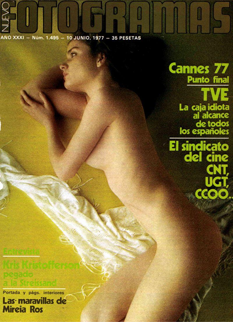 Analia Desnuda las portadas más sexys de fotogramas