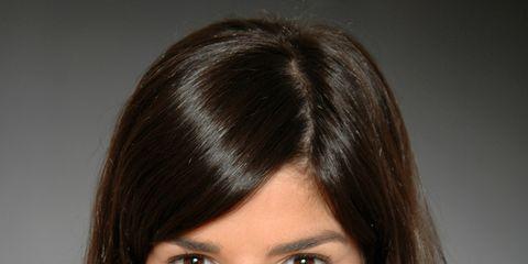 Clothing, Lip, Hairstyle, Skin, Chin, Forehead, Shoulder, Eyebrow, Eyelash, Chest,