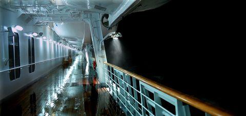 Transport, Boat, Ceiling, Naval architecture, Passenger ship, Ship, Watercraft, Public transport, Deck, Water transportation,