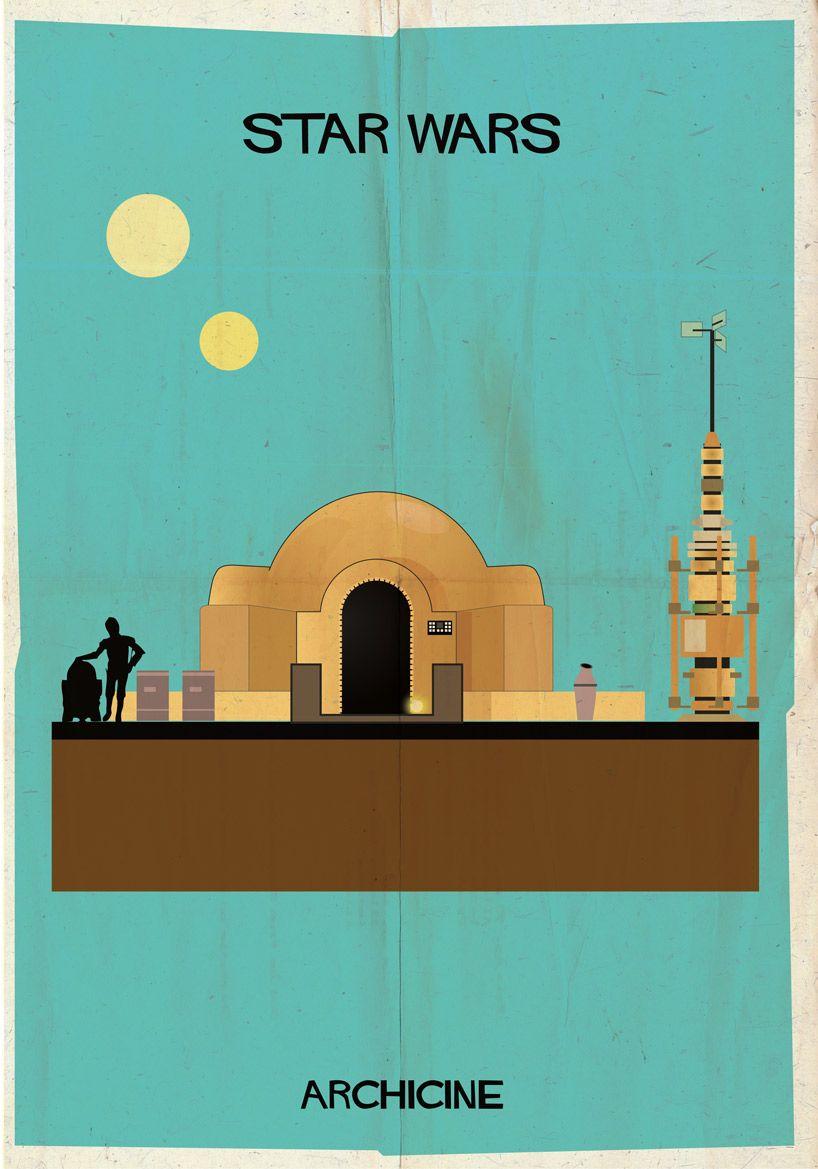 Los edificios más míticos del cine