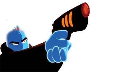 Animation, Electric blue, Animated cartoon, Graphics, Clip art, Thumb, Drawing, Fictional character, Gesture,