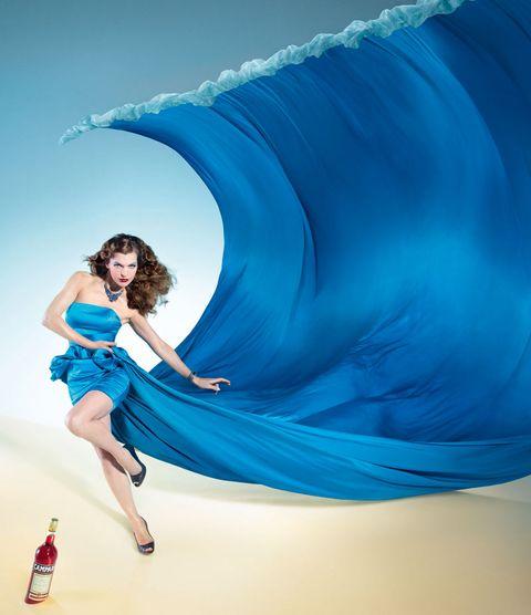 Blue, Electric blue, Aqua, Knee, Azure, Dress, Cobalt blue, Marine mammal, Majorelle blue, Cetacea,