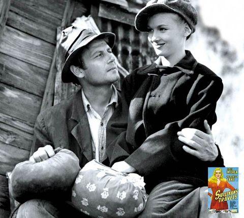Hat, Sleeve, Collar, Outerwear, Style, Sitting, Headgear, Blazer, Vintage clothing, Monochrome,