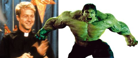 Joint, Sculpture, Hulk, Fictional character, Jaw, Wrist, Muscle, Superhero, Chest, Statue,