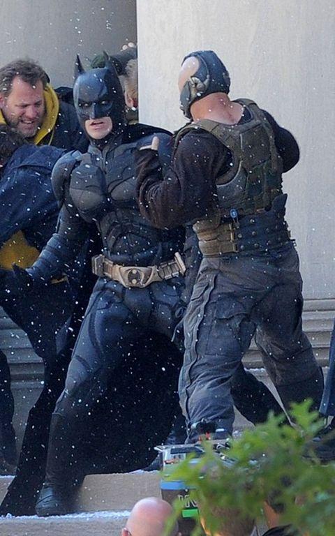Mammal, Fictional character, Batman, Costume, Superhero, Boot, Belt, Hero, Glove, Law enforcement,