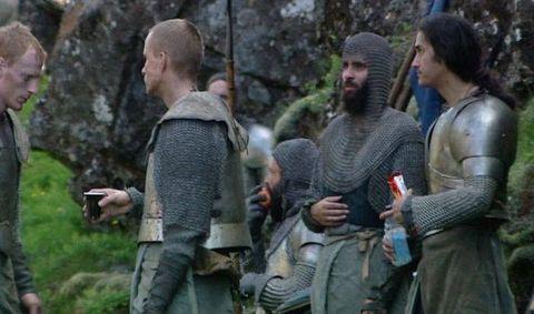 Imágenes del rodaje de la cuarta temporada de \'Juego de Tronos\'