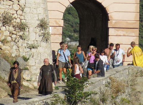 Arch, Tunnel, Stone wall, Brick,