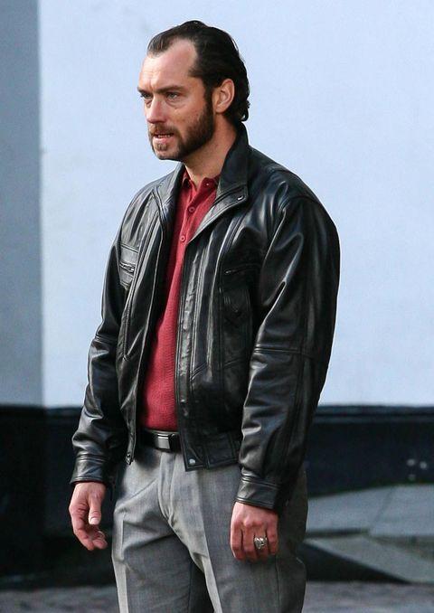 Jacket, Sleeve, Collar, Textile, Shirt, Outerwear, Denim, Pocket, Dress shirt, Leather jacket,