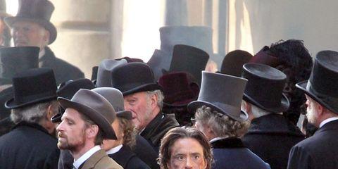 Hat, Trousers, Coat, Headgear, Jacket, Fashion, Suit trousers, Blazer, Sun hat, Overcoat,