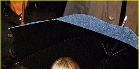 Facial expression, Umbrella, Portrait photography, Boot, Overcoat,
