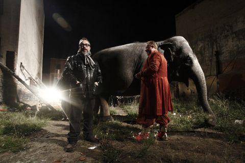 Darkness, Digital compositing, Boot, Scene, Acting,