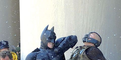 Batman, Fictional character, Balloon, Costume, Party supply, Hero, Superhero, Justice league, Action film, Armour,