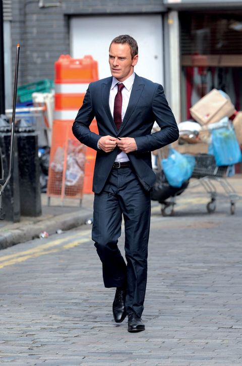 Clothing, Dress shirt, Collar, Trousers, Shirt, Coat, Suit trousers, Outerwear, Standing, Suit,