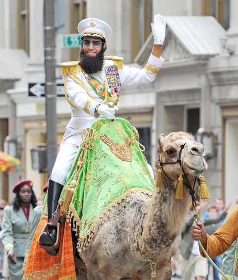 Camel, Human, Vertebrate, Camelid, Working animal, Headgear, Temple, Arabian camel, Street fashion, Livestock,