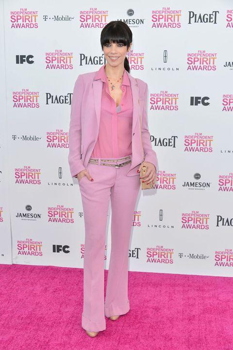 Sleeve, Textile, Collar, Magenta, Pink, Purple, Style, Formal wear, Flooring, Blazer,