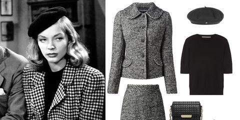 Sleeve, Textile, Pattern, White, Style, Collar, Fashion, Black, Street fashion, Blazer,