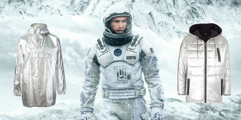 Sleeve, Astronaut, Winter, Space, Freezing, Snow, Visual arts, Armour, Illustration, Costume design,