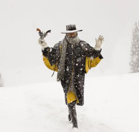 Winter, Hat, Freezing, Snow, Costume accessory, Costume, Winter storm, Blizzard, Costume hat, Precipitation,