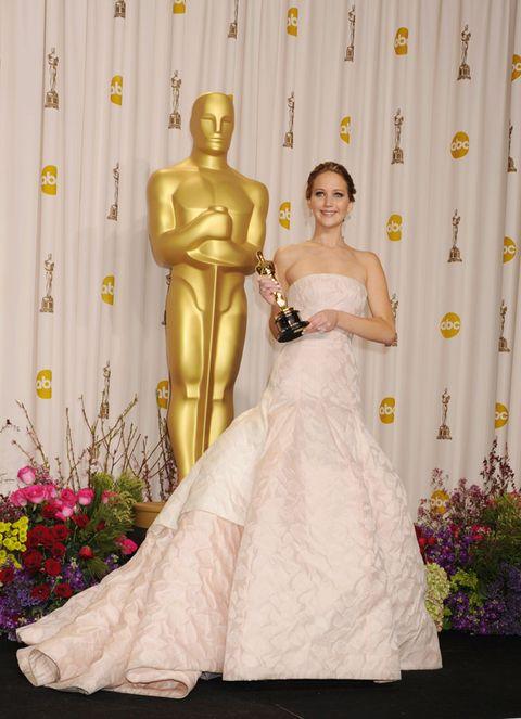 Yellow, Shoulder, Textile, Dress, Bridal clothing, Gown, Strapless dress, Wedding dress, Waist, Bridal party dress,