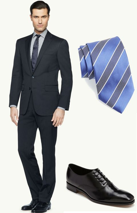 Clothing, Footwear, Product, Brown, Dress shirt, Collar, Sleeve, Coat, Trousers, Suit trousers,