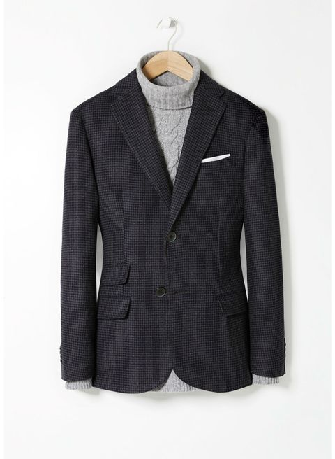 Clothing, Coat, Product, Dress shirt, Collar, Sleeve, Textile, Outerwear, White, Pattern,