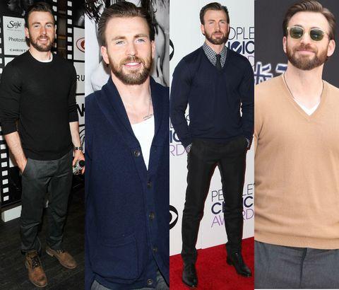 Facial hair, Beard, Style, T-shirt, Carpet, Fashion, Cool, Moustache, Sunglasses, Premiere,