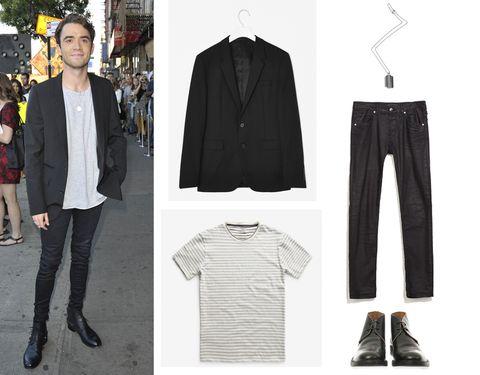 Clothing, Sleeve, Textile, Collar, Outerwear, White, Coat, Style, Fashion, Denim,