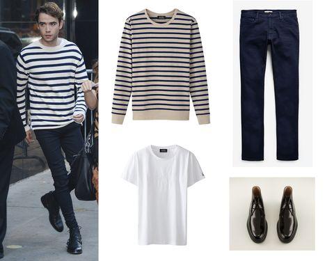Clothing, Product, Sleeve, Textile, White, Outerwear, Denim, Style, Street fashion, Fashion,