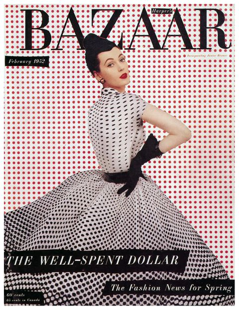 Pattern, Font, Poster, One-piece garment, Polka dot, Day dress, Costume, Retro style, Graphics, Photo caption,