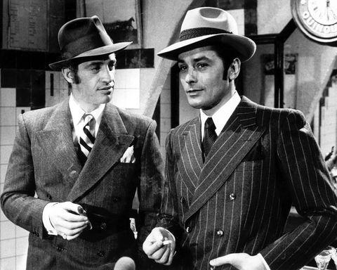 Hat, Dress shirt, Coat, Trousers, Suit, Outerwear, Collar, Formal wear, Style, Blazer,