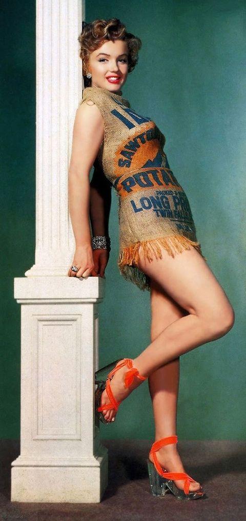 El Día Que Marilyn Se Puso Un Saco De Patatas