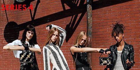 da868c131 Jaden Smith, de diecisiete años, hijo de Will Smith y Jada Pinkett Smith,  protagoniza la nueva campaña de Louis Vuitton fotografiada por Bruce Weber.