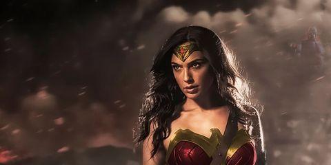 Fictional character, Wonder Woman, Cg artwork, Superhero, Justice league, Black hair,