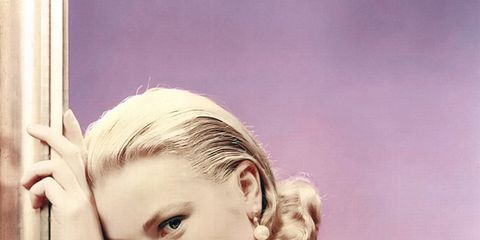 Hairstyle, Shoulder, Eyelash, Art, Model, Blond, Makeover, Portrait, Painting, Photo shoot,