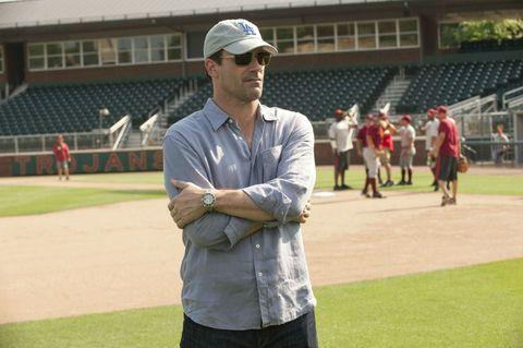 Cap, Sleeve, Sunglasses, Baseball cap, Goggles, Stadium, Cricket cap, Polo shirt, Belt, Arena,