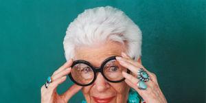 Eyewear, Glasses, Vision care, Portrait, Gesture, Lei, Laugh, Costume, Humour, Bracelet,