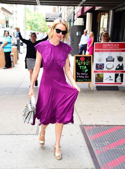 Clothing, Eyewear, Footwear, Vision care, Sunglasses, Outerwear, Magenta, Pink, Dress, Fashion accessory,