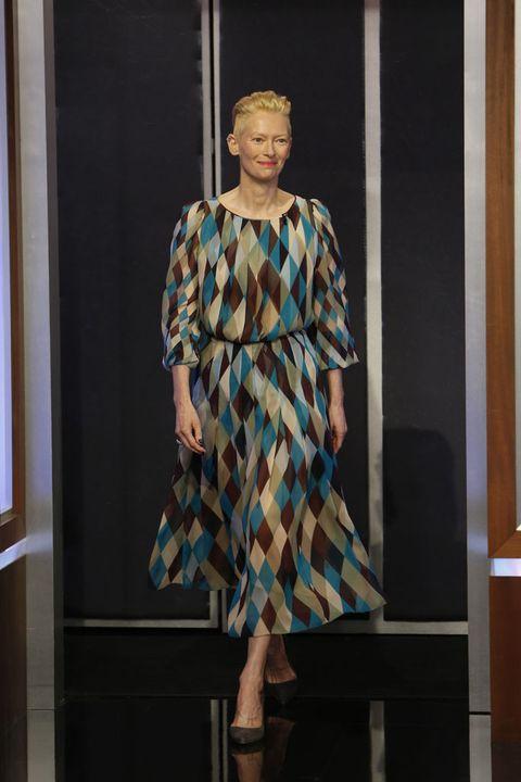 Sleeve, Dress, Fashion show, One-piece garment, Style, Runway, Fashion model, Fashion, Pattern, Day dress,